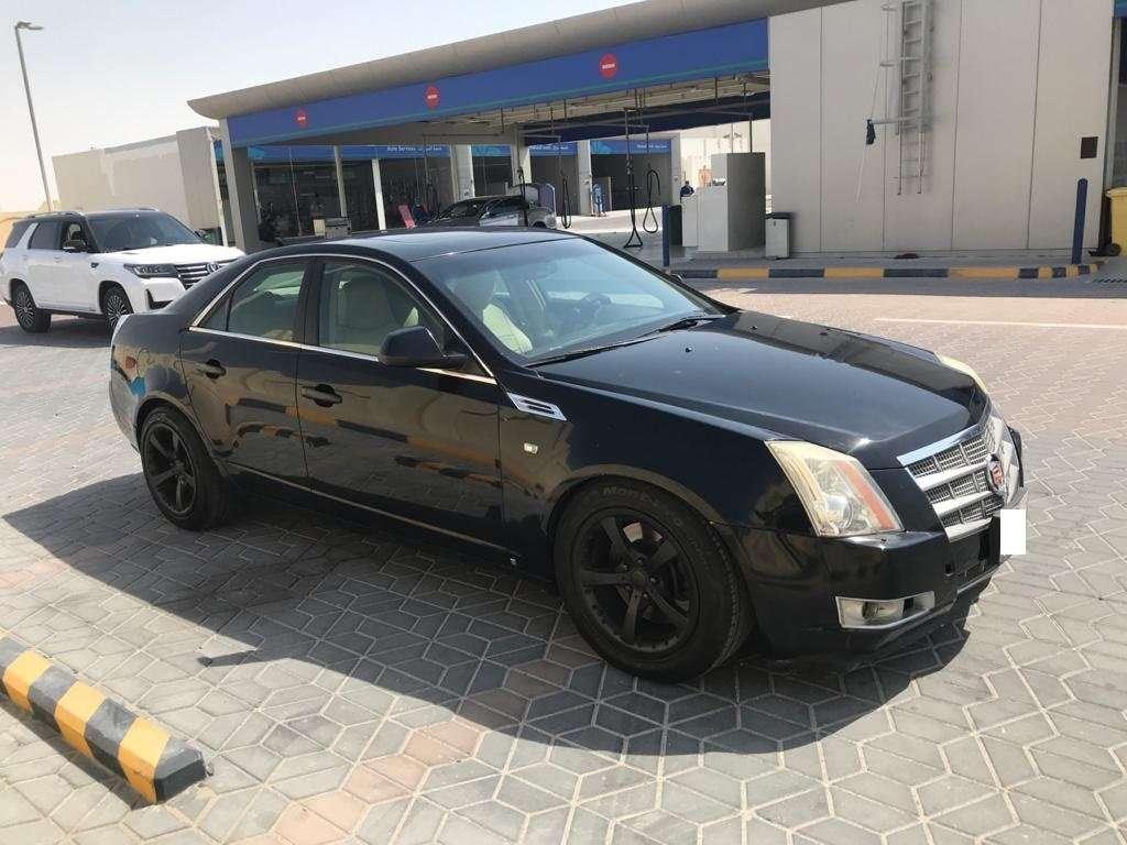 Cadillac cts 2009 Black