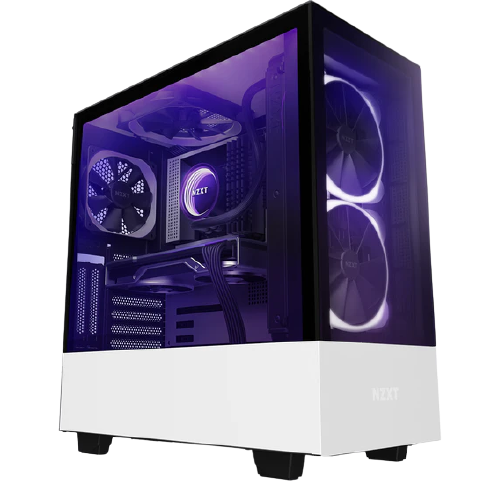 Gaming Computer NZXT H510 Elite White