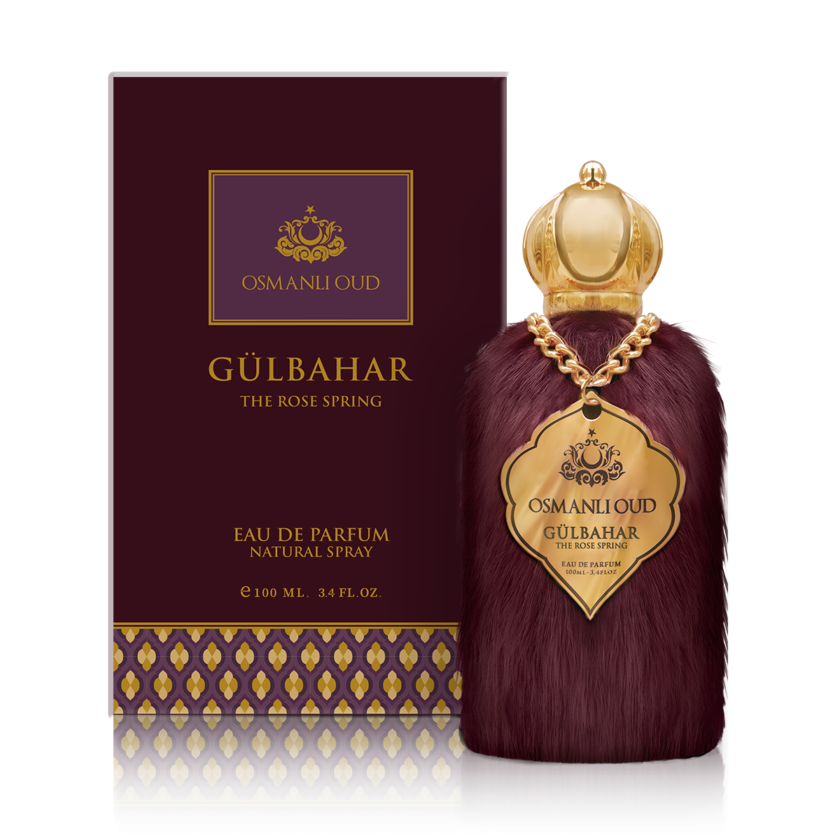 GÜLBAHAR THE ROSE SPRING EDP Perfume 100 ML