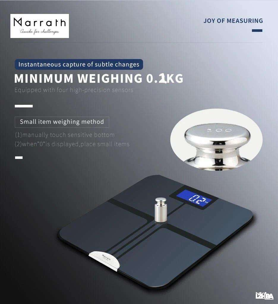 Marrath Smart Home Wi-Fi BMI Electronic Weigh Scale