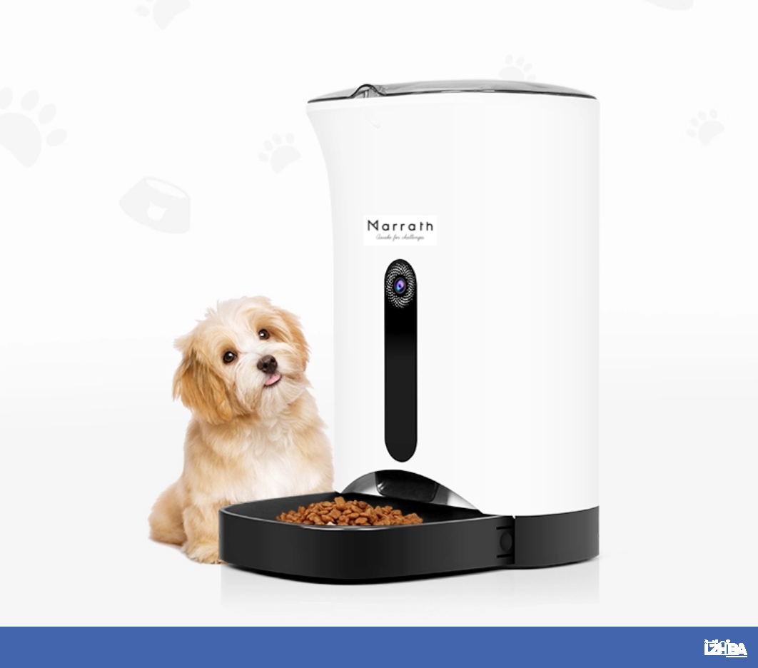 Marrath Smart WiFi Automatic Pet Feeder with Camera