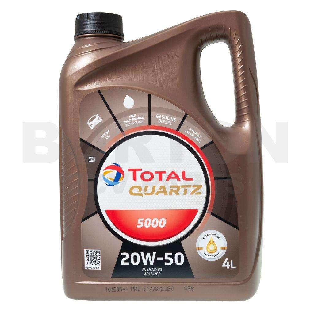 Total Petrol Engine Oil / 20W-50