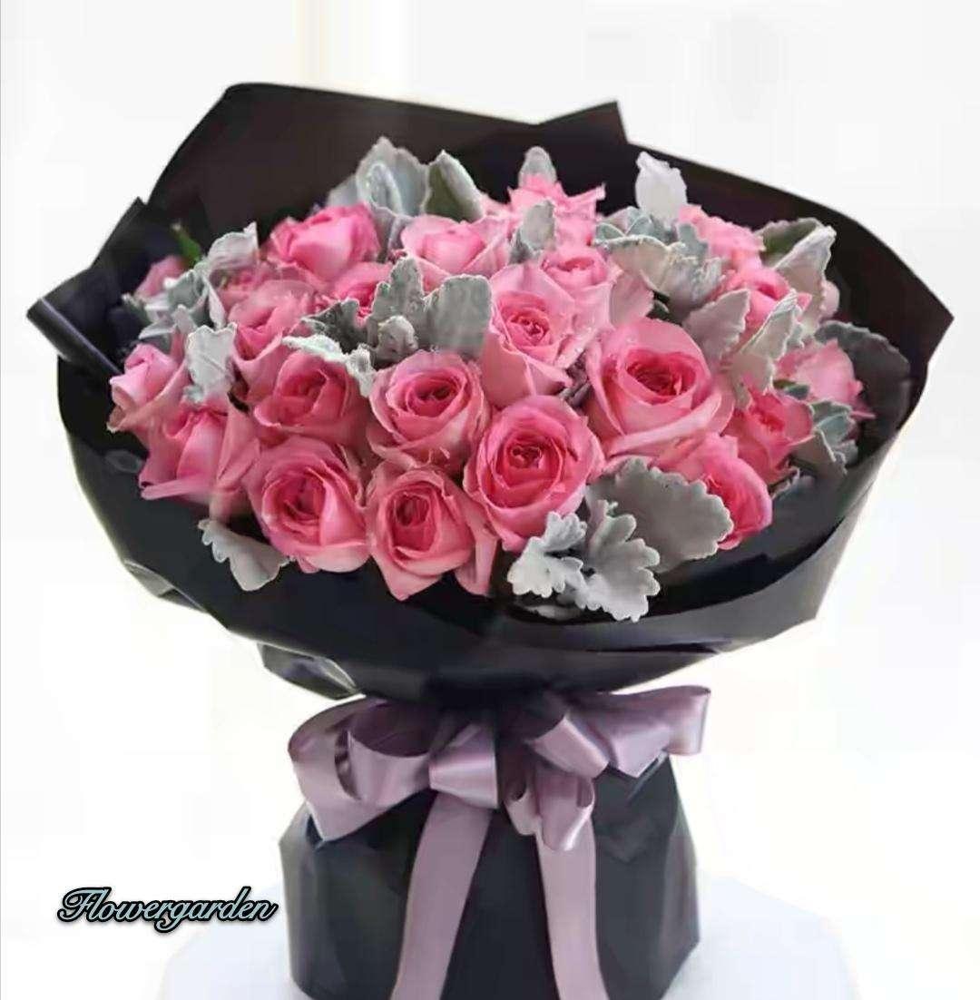 Pink Rose Hermosa Bouquet