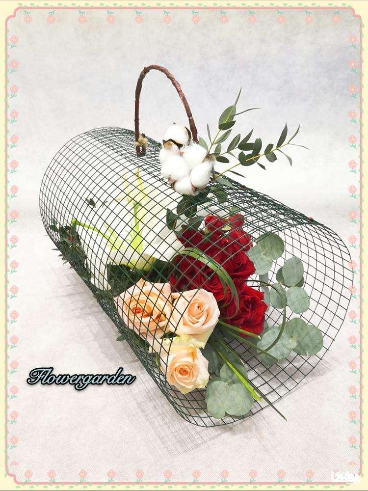 Spring Overflowing Basket