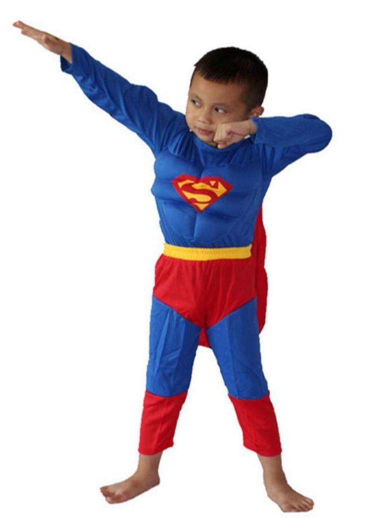 Superman Costume with Muscle – Boys