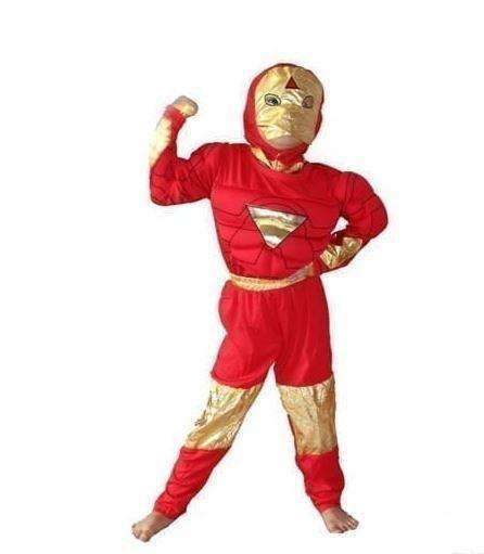 Marvel Ironman Costume with Muscle
