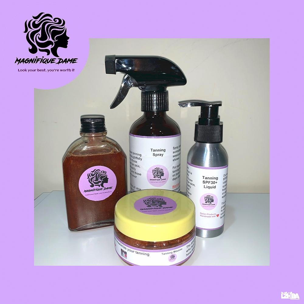 Magnifique Dame African Tanning Ritual