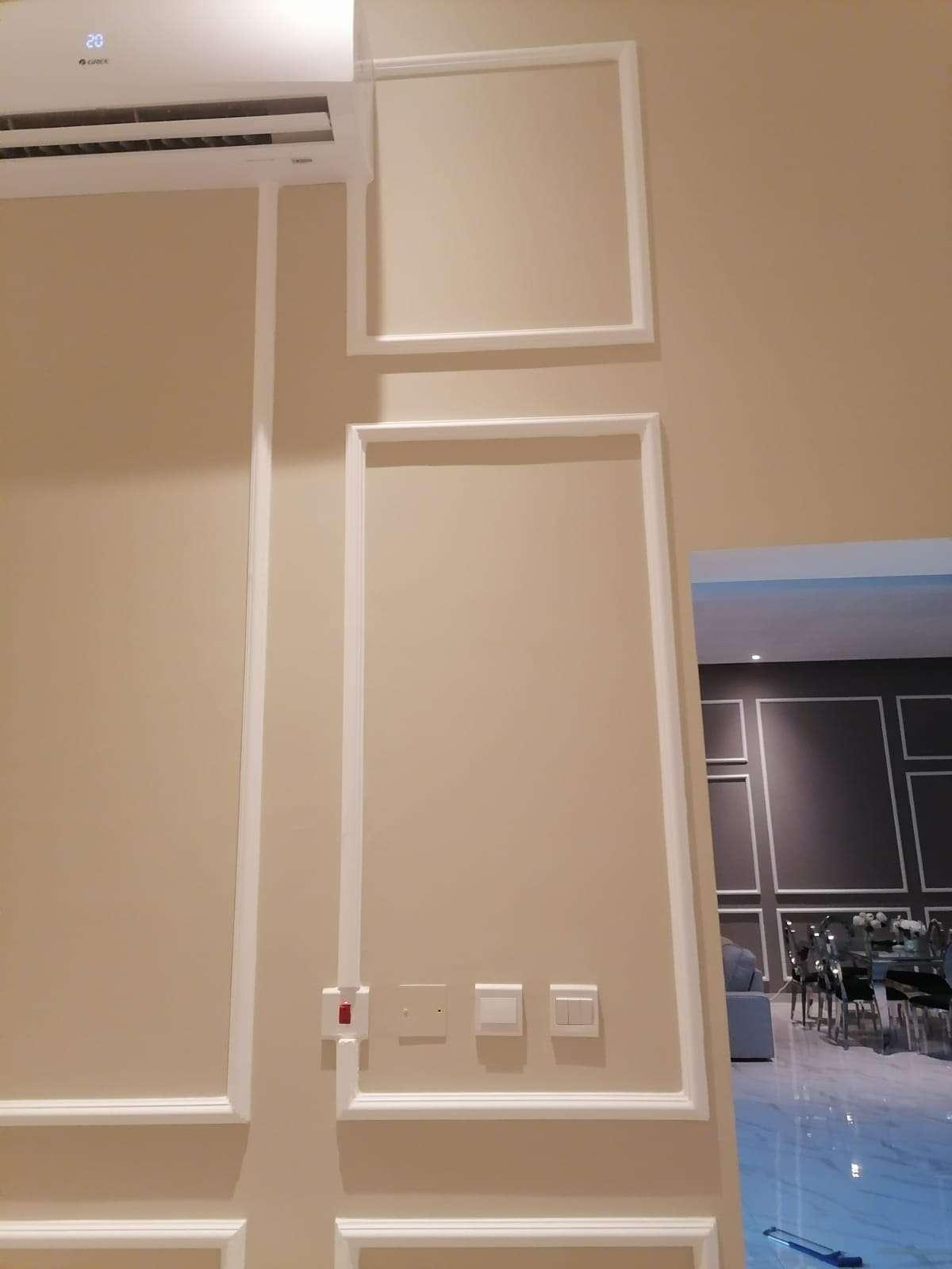 Per square metar insulation fixing