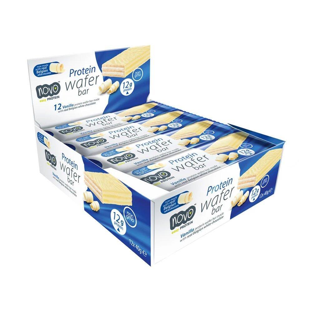 Novo protein wafer vanilla *12