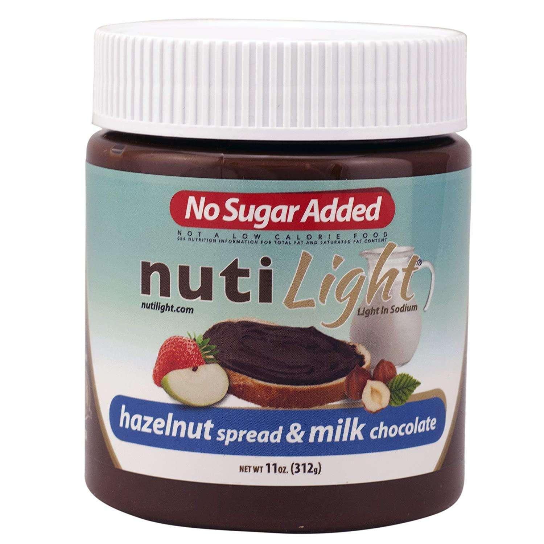 NutiLight Hazelnut Spread & Milk Chocolate