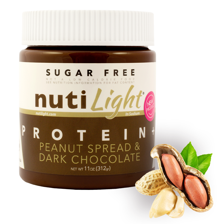 NutiLight Protein + Peanut Spread & Dark Chocolate