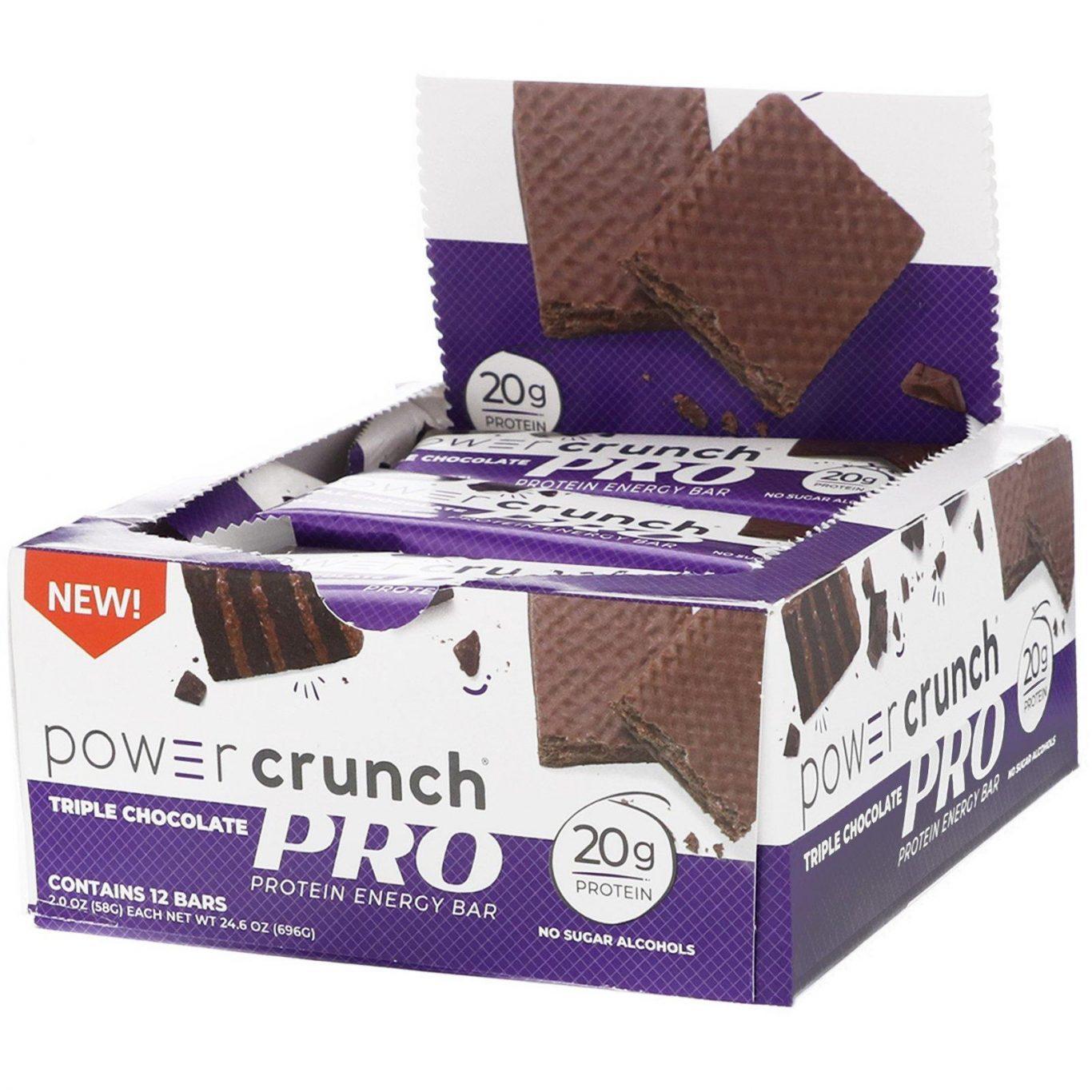 Power Crunch Triple Chocolate pro